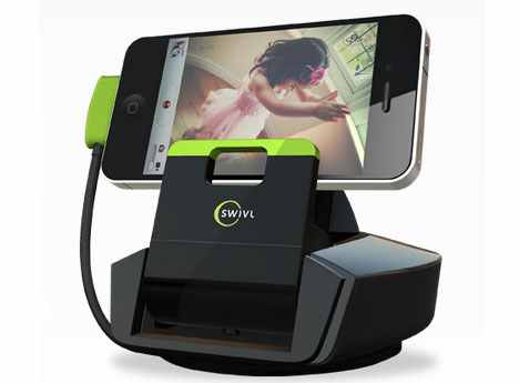 The-Swivl-stand-easily-holds-an-iPhone
